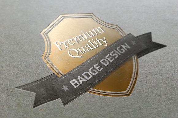 Badge Design Logo