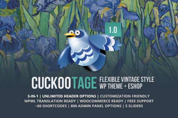 CuckooTage Stylish One Page E-Shop