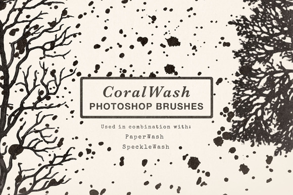 CoralWash Photoshop Brushes