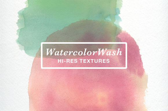 WatercolorWash Hi-Res Textures