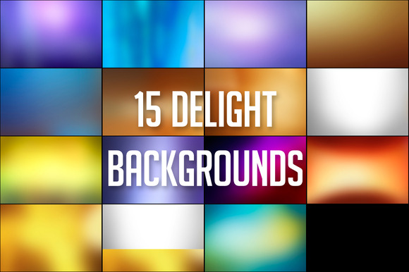 15 Delight Backgrounds