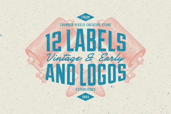 Vintage Early Labels Series 1
