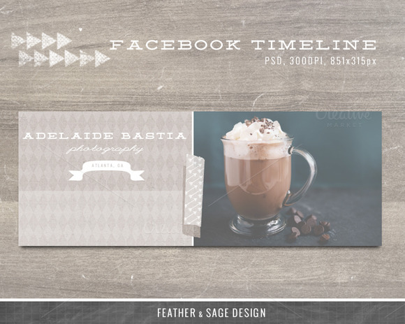 Facebook Timeline Paper Diamonds