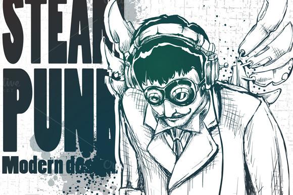 Steampunk DJ