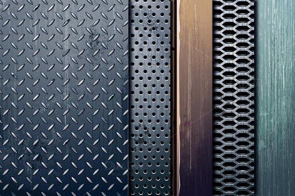 5 Industrial Textures