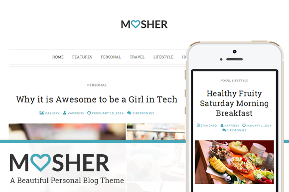 Mosher A Beautiful Personal Blog