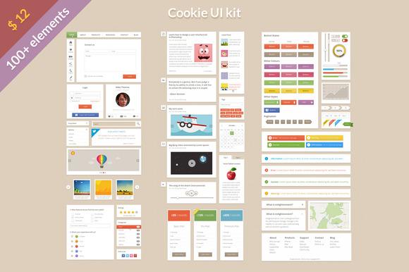 Cookie UI Kit