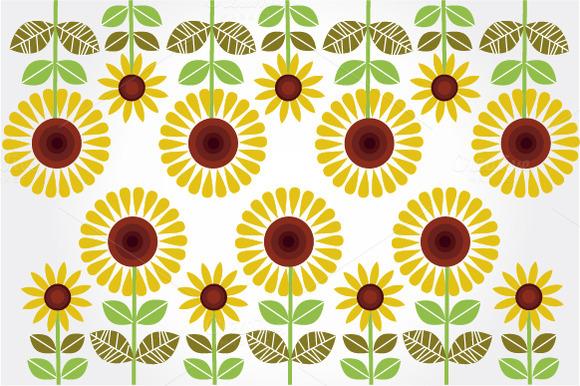 Sunflowers Illustrations