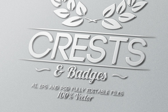 Crests Badges Labels Vol.1
