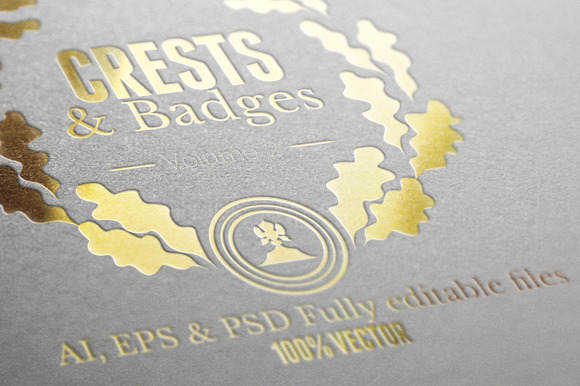 Crests Badges Labels Vol.2
