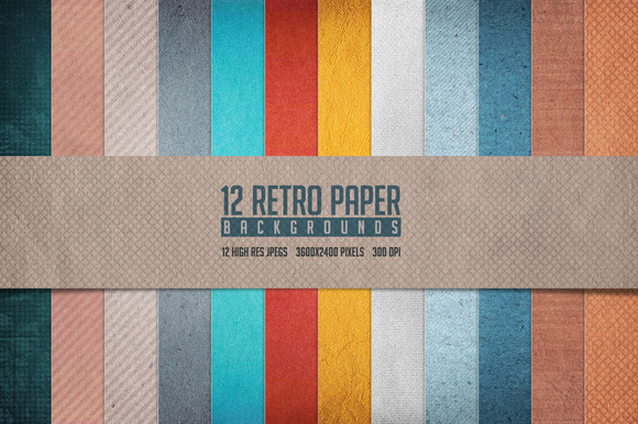 Retro Paper Backgrounds
