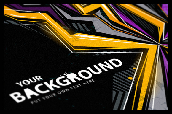 4 Abstract Graffiti Backgrounds