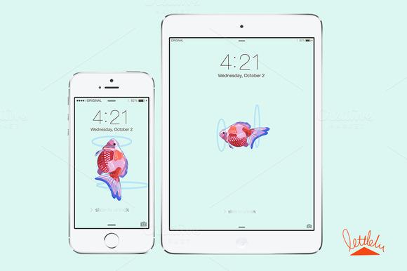 IPhone IPad Wallpaper-fish