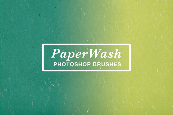 PaperWash Photoshop Brushes