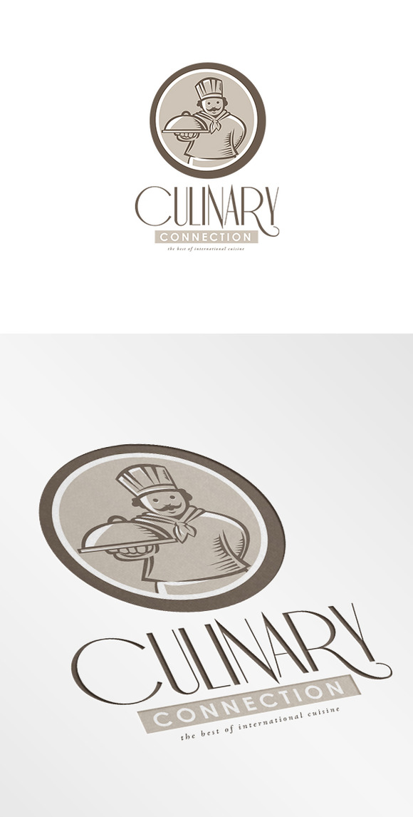 Culinary Connection Cuisine Logo