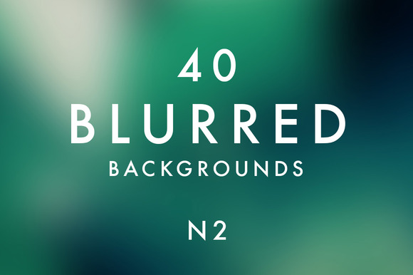 40 Blurred Backgrounds N2