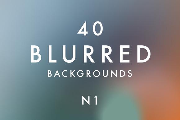 40 Blurred Backgrounds N1