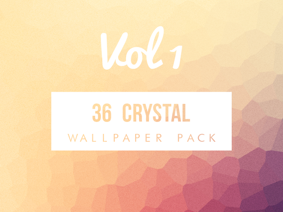 Crystal Wallpaper Pack VOL 1