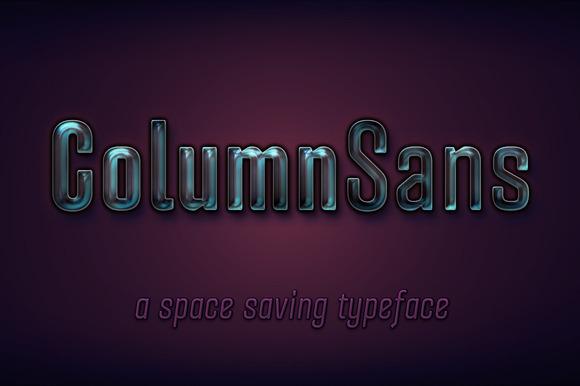 ColumnSans-Complete Family