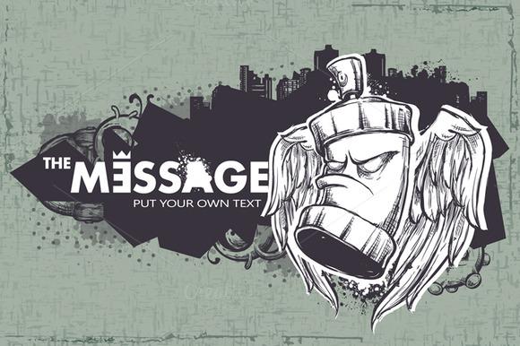 Sketchy Graffiti Banner