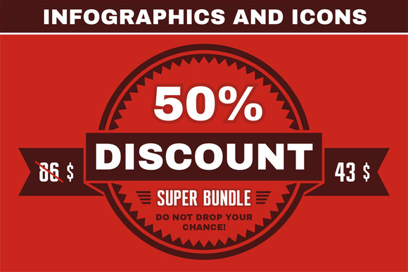 Super Bundle Infographics Icons