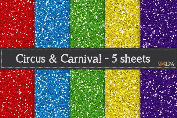 Circus Carnival Glitter
