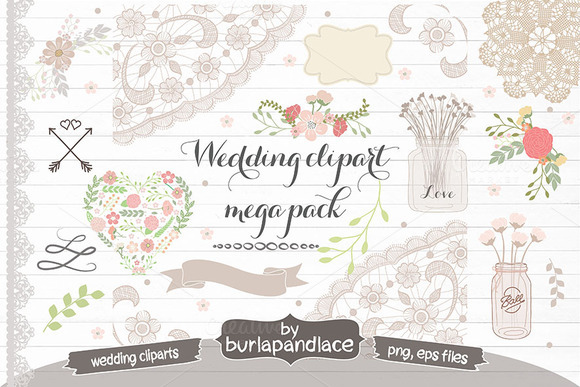 WEDDING MEGA PACK Clipart