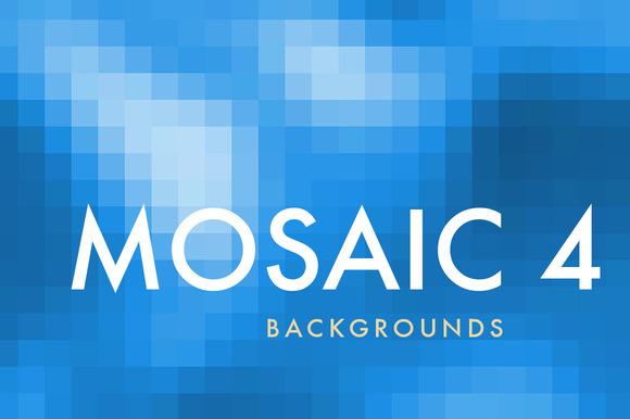 12 Mosaic Backgrounds 4