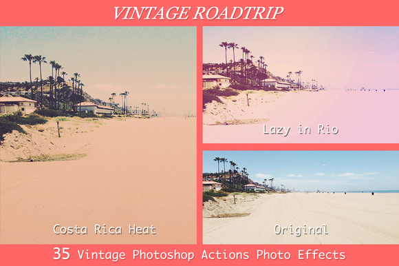 Vintage Roadtrip 35 PS Actions