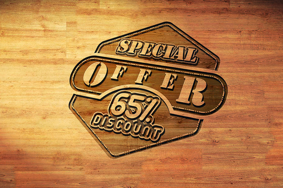 Special Offer 65% Discount Logo