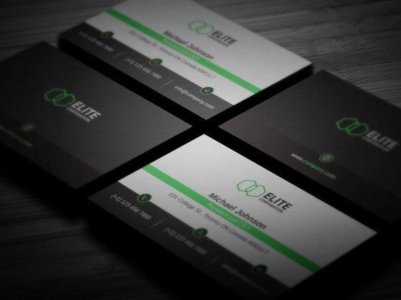 Simple And Clean Business Card 2