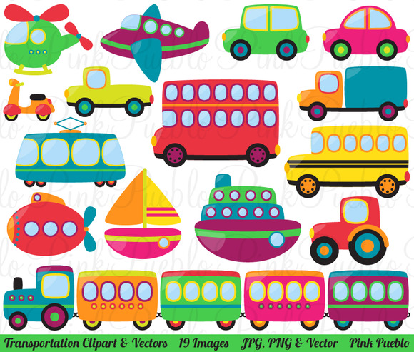 Transportation Clipart And Vectors