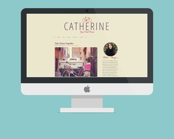 WordPress Theme Catherine