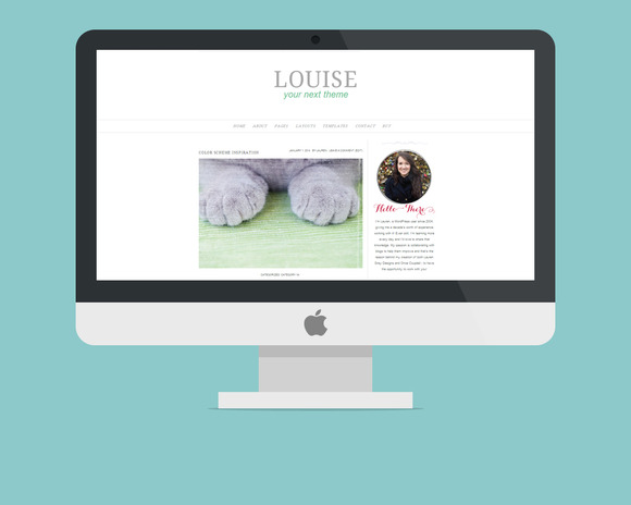 WordPress Theme Louise