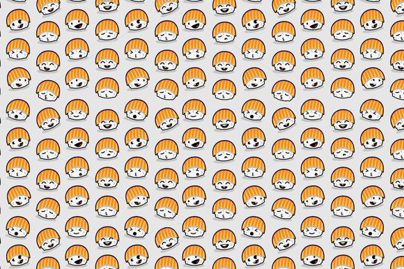 Sushi Sushi Seamless Pattern