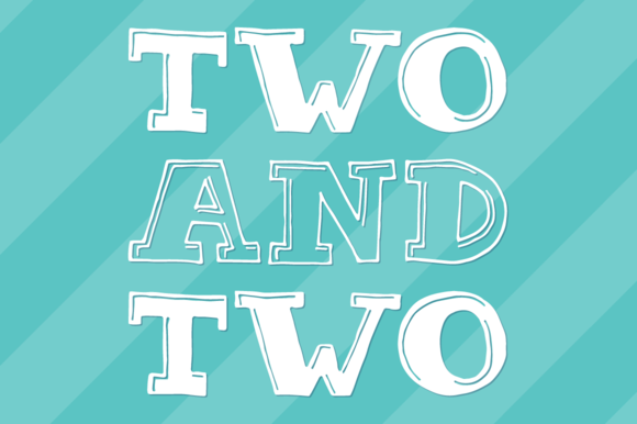 Two Two Mini Font