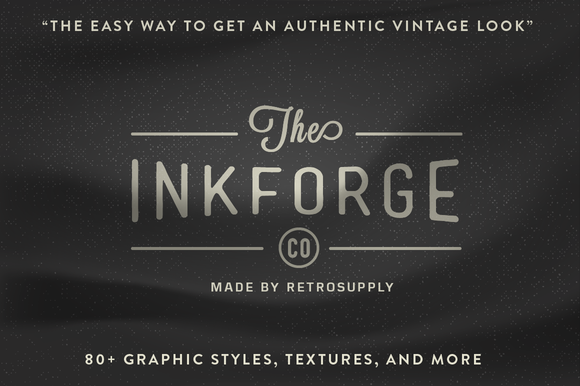 InkForge Easy To Use Vector Goods