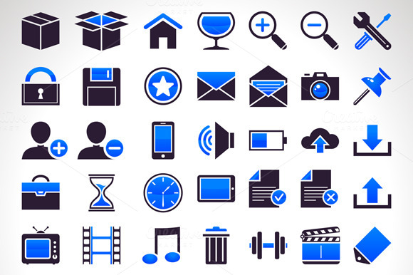 56 Vector Icons