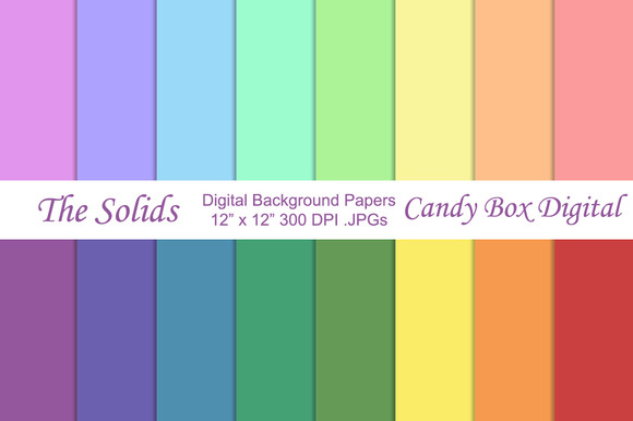 Basic Solid Background Papers