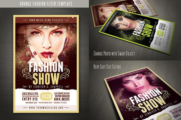 Grunge Fashion Flyer