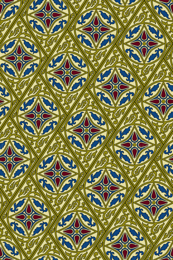 Vector Eastern Seamless Pattern