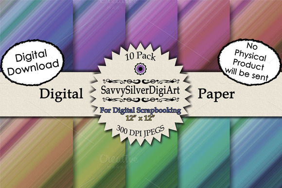 Tie Dye Digital Paper Tone On Tone