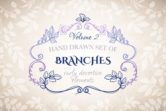 Branches Decorative Elements Vol.2