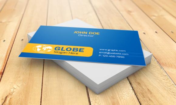 Globe Visiting Card