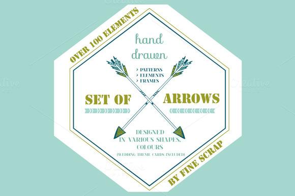 100 Various Arrows