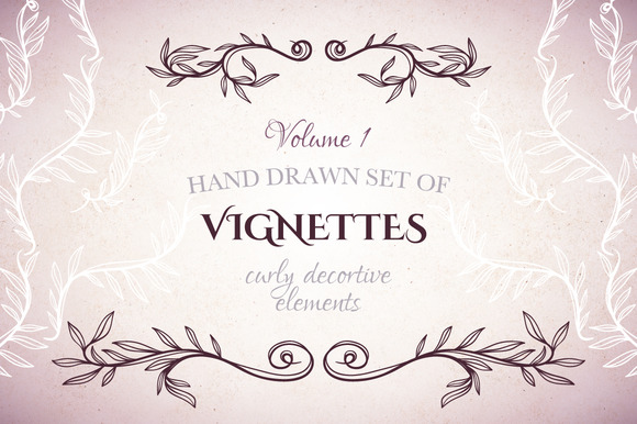 Set Of Vignettes Vol 1