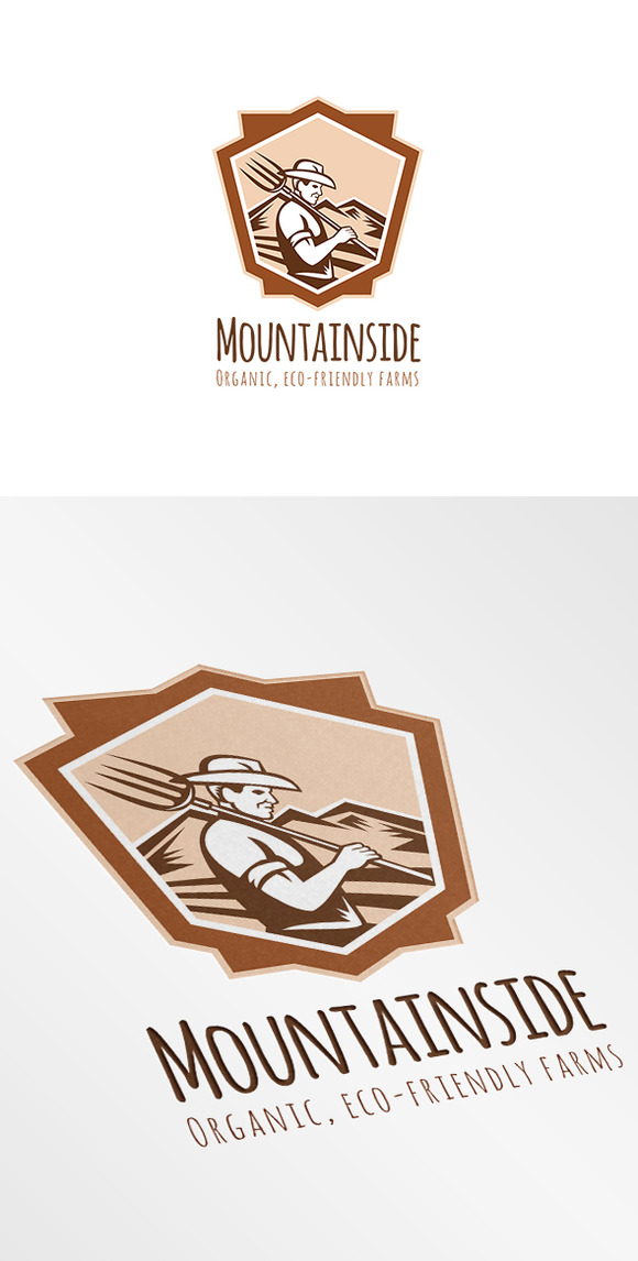 Mountainside Organic Eco-Friendly Fa