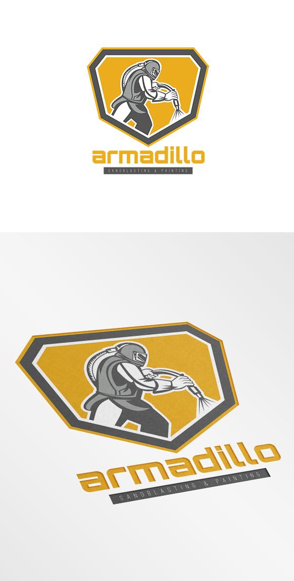 Armadillo Sandblasting Logo