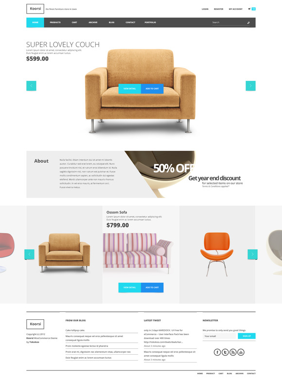 Koorsi Furniture Woocommerce Theme