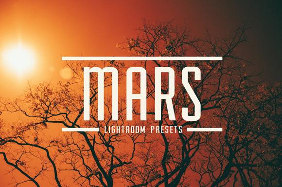 MARS 8 Redscale LR Presets TOOLKIT